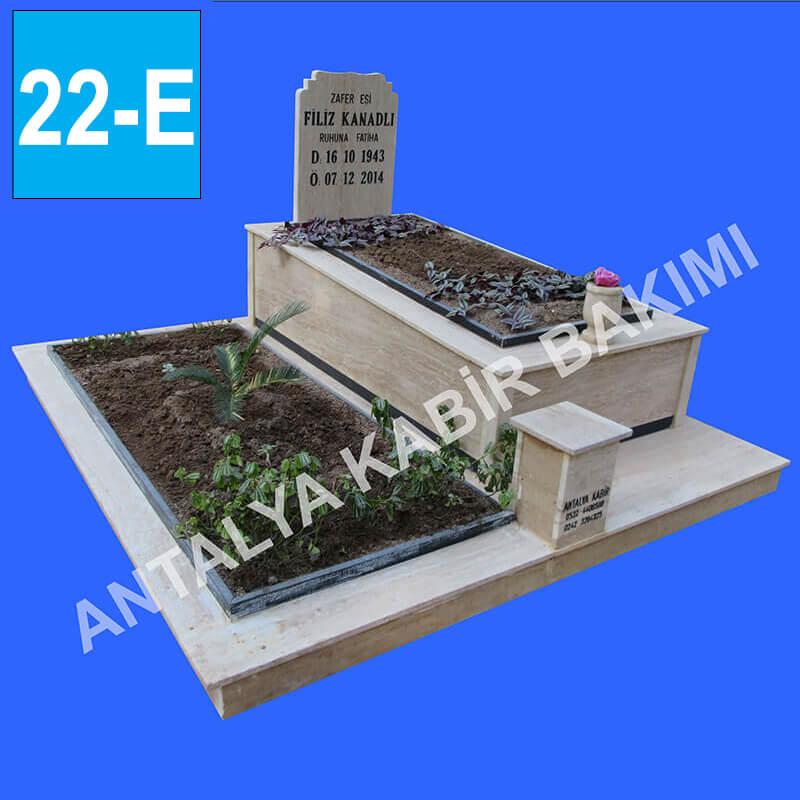 Traevrten İkli Mezar Modeli f